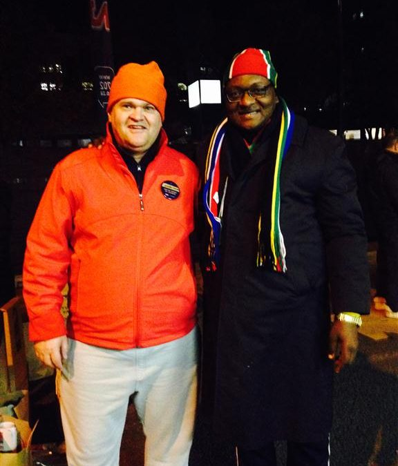 CEOs reflect on spending the night on a freezing Joburg street for charity